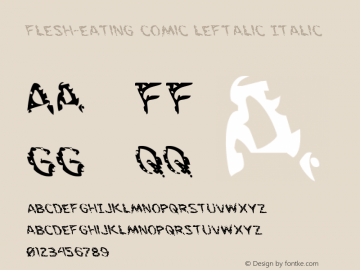 Flesh-Eating Comic Leftalic