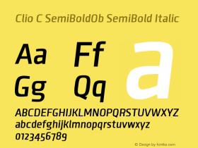 Clio C SemiBoldOb