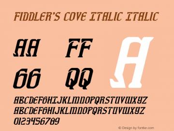 Fiddler's Cove Italic