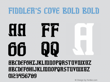 Fiddler's Cove Bold