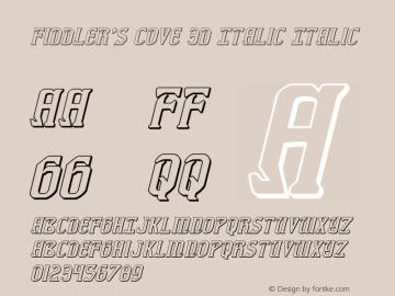 Fiddler's Cove 3D Italic