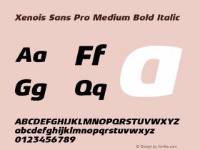 Xenois Sans Pro Medium