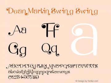Dean Martin Swing