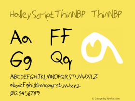 HalleyScriptThinNBP