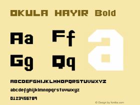 OKULA HAYIR