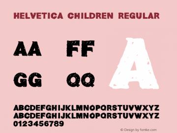 Helvetica Children