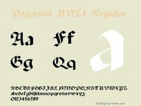 Paganini UNZ1