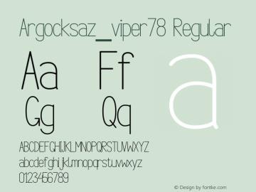 Argocksaz_viper78
