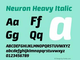 Neuron Heavy