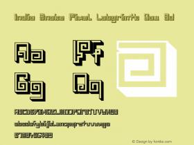 India Snake Pixel Labyrinth Gam