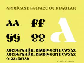 Ambicase Fatface OT