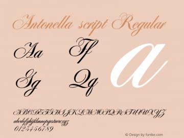 Antonella script