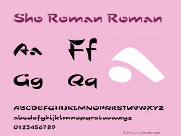 Sho Roman