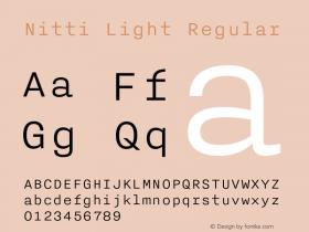 Nitti Light