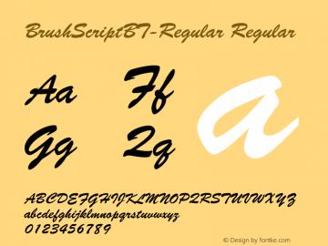BrushScriptBT-Regular