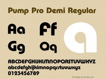 Pump Pro Demi