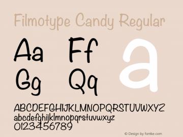 Filmotype Candy