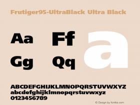 Frutiger95-UltraBlack