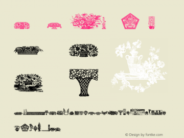 Floral Motifs-Containers1