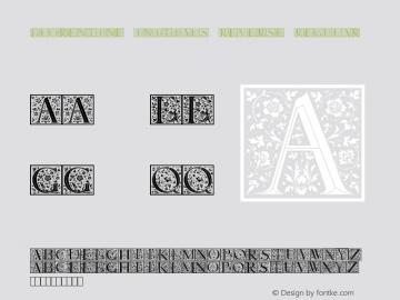 Florentine Initials Reverse