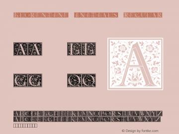 Florentine Initials