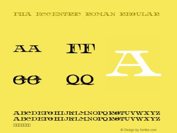 FHA Eccentric Roman