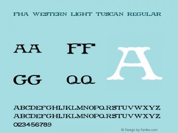 FHA Western Light Tuscan