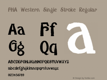 FHA Western Single Stroke