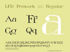 LFD Penwork 181