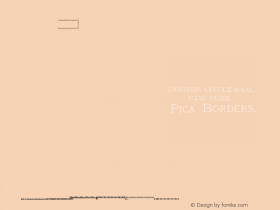 Farmer, Little Pica Borders