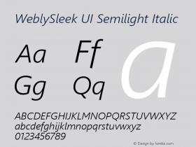 WeblySleek UI Semilight