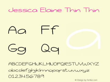Jessica Elaine Thin