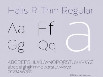 Halis R Thin