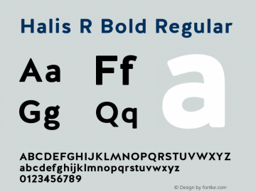 Halis R Bold
