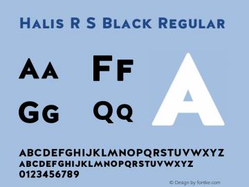 Halis R S Black