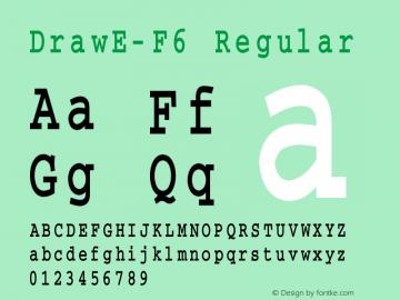 DrawE-F6