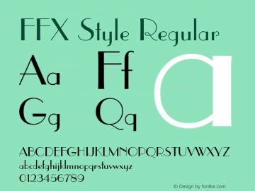 FFX Style