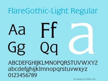 FlareGothic-Light