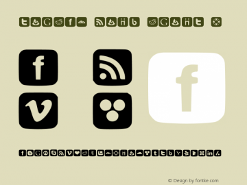 SOCIAL FONT ICONS