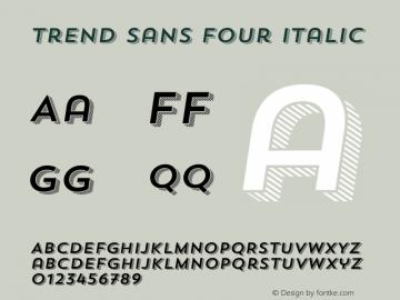 Trend Sans Four