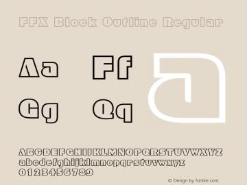 FFX Block Outline
