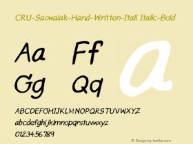 CRU-Saowalak-Hand-Written-Itali
