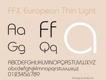 FFX European Thin