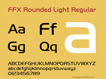FFX Rounded Light