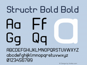 Structr Bold