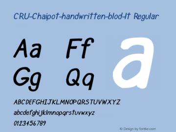CRU-Chaipot-handwritten-blod-lt