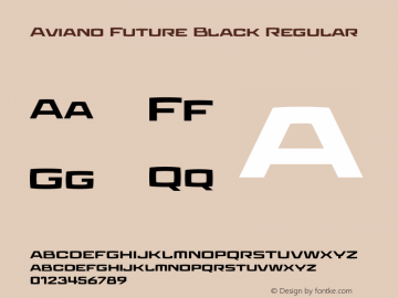 Aviano Future Black