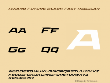 Aviano Future Black Fast