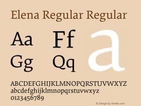 Elena Regular