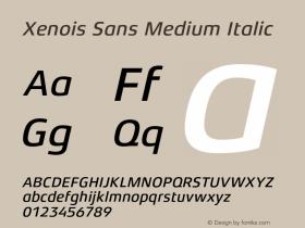Xenois Sans Medium